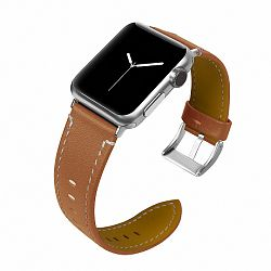 Apple Watch Leather Italy 42/44mm szíj, Brown