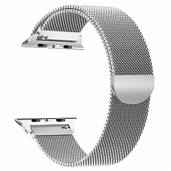 Apple Watch Milanese 42/44mm szíj, Silver