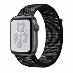 Apple Watch Nylon 42/44mm szíj, Black