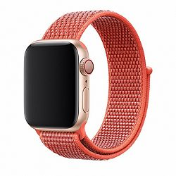Apple Watch Nylon 42/44mm szíj, Light Red