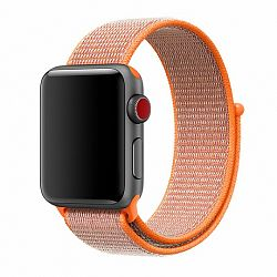 Apple Watch Nylon 42/44mm szíj, Orange