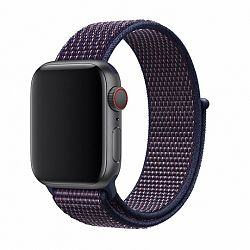 Apple Watch Nylon 42/44mm szíj, Purple