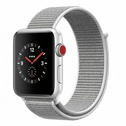 Apple Watch Nylon 42/44mm szíj, Silver