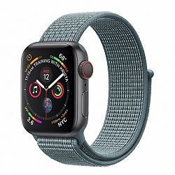 Apple Watch Nylon 42/44mm szíj, Slate
