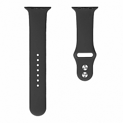 Apple Watch Soft Silicone 38/40mm szíj, Black