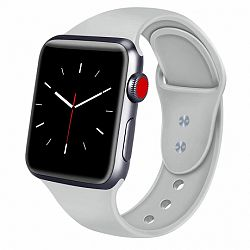 Apple Watch Soft Silicone 42/44mm szíj, Gray