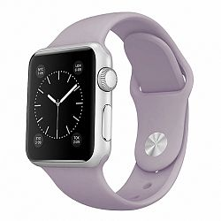Apple Watch Soft Silicone 42/44mm szíj, Light Purple