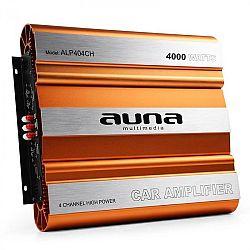 Auna 4-csatornás MOSFET-erősítő autóba, 4000 W
