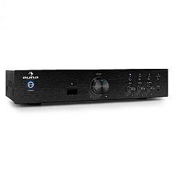 Auna AV2-CD508BT hi-fi erősítő, fekete, AUX, bluetooth