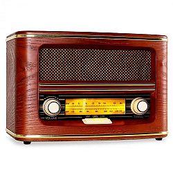 Auna Belle Epoque 1905 Retro-Radio retró rádió, AM, FM