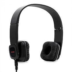 Auna Bluetooth fejhallgató, elem, handafree, bőr