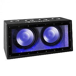 """Auna Cannonbeat TX12, 2 x 30 cm (12""""), 2 x 300 W, LED, passzív autó subwoofer"""