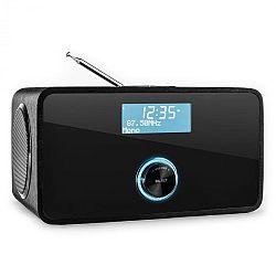 Auna DABStep DAB/DAB+ digitális rádió, bluetooth, FM, RDS, ébresztőóra