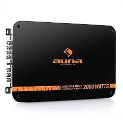 Auna Dark Star 2000, 2000W, 2 csatornás végfokerősítő autóba