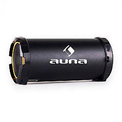 Auna Dr. Beat 2.1 bluetooth hangfal, USB, SD, AUX, FM, akkumulátor, sárga