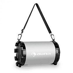Auna Dr. Silver Boom 2.1- bluetooth hangfal, USB, SD, AUX, akkumulátor