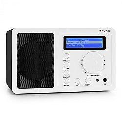 Auna IR-130, internetes rádió, W-LAN, krémszínű, streaming