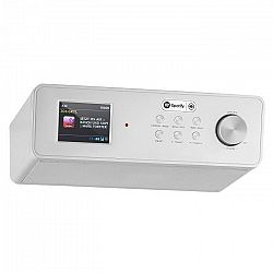 Auna KR-200, ezüst, konyhai rádió, beépíthető, WiFi, DAB+