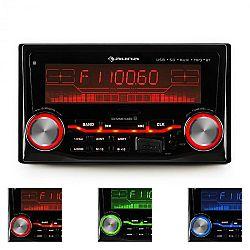 Auna MD-200BT autorádió, USB, SD, MP3, bluetooth, 3 színben