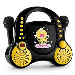 Auna Rockpocket karaoke szett, fekete