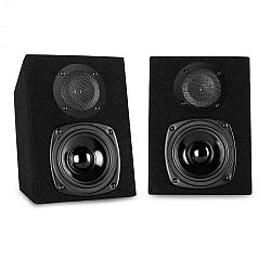 Auna ST-2000, 40 W, passzív 2 sávos hangfalpár, fekete