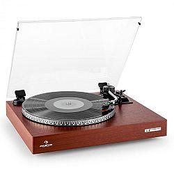 Auna TT-931, lemezjátszó, fa dizájn