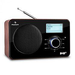 Auna Worldwide internetes rádió, hálózati lejátszó, WLAN/LAN, DAB/DAB+, FM, USB, AUX