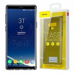 Baseus Airbag Anti-Schock szilikon tok Samsung Galaxy Note 9, fekete átlátszó