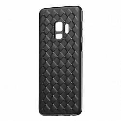 Baseus BV Weaving szilikon tok Samsung Galaxy S9, fekete