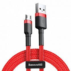 Baseus Cafule kábel USB / micro USB QC 3.0 1m, piros (CAMKLF-B09)