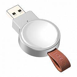 Baseus Dotter mini Qi 2.5W vezeték nélküli töltő Apple Watch, fehér (WXYDIW02-02)