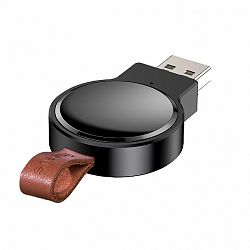 Baseus Dotter mini Qi 2.5W vezeték nélküli töltő Apple Watch, fekete (WXYDIW02-01)
