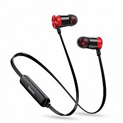 Baseus Encok Sports S07 bluetooth fülhallgató, fekete/piros
