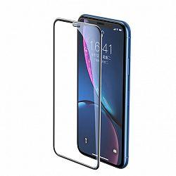 Baseus Full-screen 3D kijelzővédő üvegfólia  iPhone XR, fekete (SGAPIPH61-WA01)