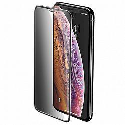 Baseus Full-screen 3D kijelzővédő üvegfólia  iPhone XS Max, fekete (SGAPIPH65-WC01)