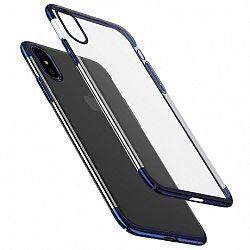 Baseus Glitter műanyag tok iPhone X/XS, kék (WIAPIPHX-DW03)