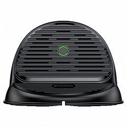 Baseus Horizontal vezeték nélküli töltő Qi, fekete (WXHSG-01)