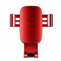Baseus Metal Age Gravity autós tartó ventilációs rácsba, piros (SUYL-D09)