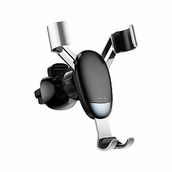 Baseus Mini Gravity autós tartó ventilációs rácsba, ezüst (SUYL-G0S)