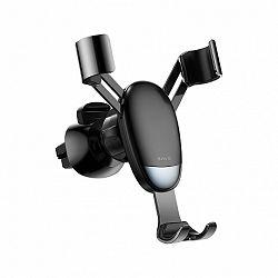 Baseus Mini Gravity autós tartó ventilációs rácsba, fekete (SUYL-G01)