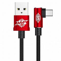 Baseus MVP kábel USB / USB-C 2m, piros