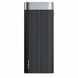 Baseus Parallel power bank 10000 mAh USB / USB-C + micro USB, fekete (PPALL-PX01)