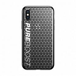 Baseus Parkour szilikon tok Apple iPhone X/XS, fekete (WIAPIPHX-KP01)