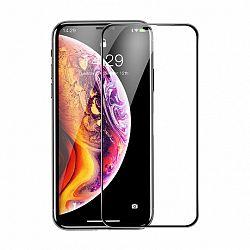Baseus Rigid-edge 3D kijelzővédő üvegfólia  iPhone XS Max, fekete