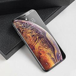 Baseus Rigid-edge 3D kijelzővédő üvegfólia  iPhone XS Max, fekete (SGAPIPH65-KM01)