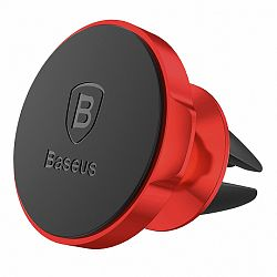 Baseus Small Ears mágneses autós tartó, piros (SUER-A09)