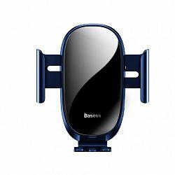 Baseus Smart Car Mount Gravity autós tartó ventilációs rácsba, kék