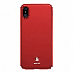 Baseus Ultra Thin műanyag tok iPhone X/XS, piros