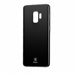 Baseus Wing Ultra Thin szilikon tok Samsung Galaxy S9, Fekete