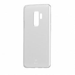 Baseus Wing Ultra Thin szilikon tok Samsung Galaxy S9 Plus, átlátszó
